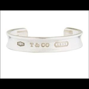 Tiffany & Co. Sterling Silver 1837 Cuff Bracelet